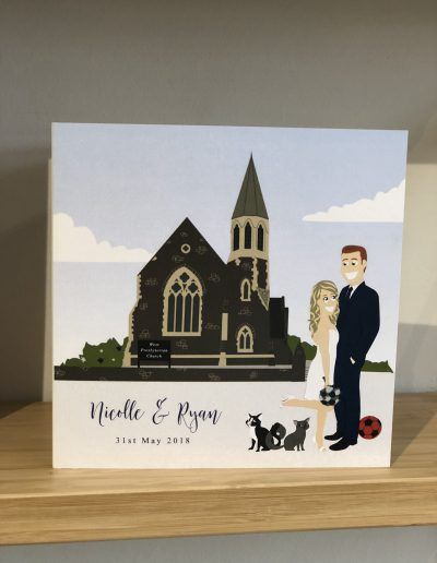 Nicolle and Ryan Venue Illustration